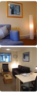 Counselling rooms for hire, Crescent Practice in Horsham, Sussex